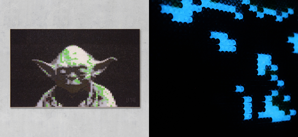 VERI – Analog Pixel Art » Star Wars - Fünf Charaktere